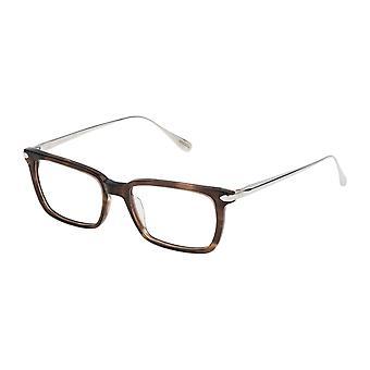 Dunhill VDH041 06HN Streaked Transparent Brown Glasses