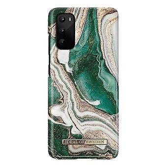 iDeal von Schweden Samsung Galaxy S20 - Golden Jade Marmor