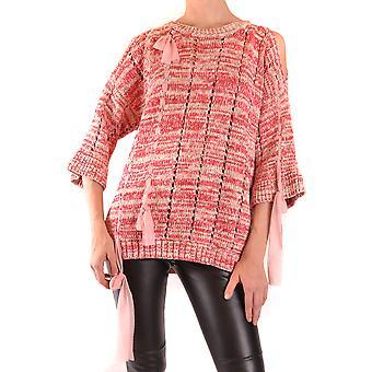Dupla ezbc060231 Women's Pink Cotton Sweater