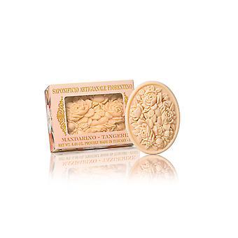 Saponificio Artigianale Fiorentino Handmade Soap - Mandarin - Filigree Decorated in Gift Box 125g