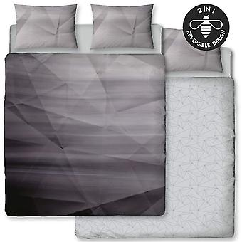 Hive Ombre Mono Panel Duvet Cover Set