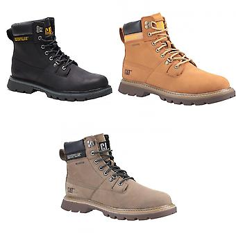 CAT Lifestyle Mens Ryman Waterproof Lace Up Cuir Boot
