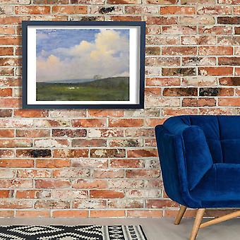 Albert Bierstadt - Clouds Over California Poster Print Giclee