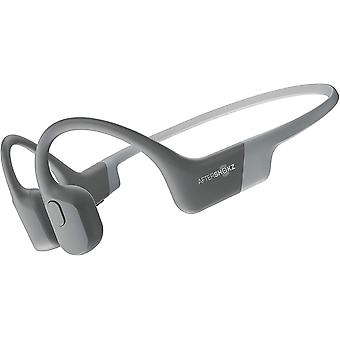 AfterShokz Aeropex Bone Conduction Headphones Wireless Waterproof - Lunar Grey