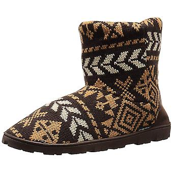 MUK LUKS Women's Knit Lug Boot-Nordic