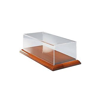 Luxury Display Case with Wooden Base
