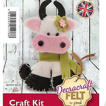 Maisie Cow Felt Sewing Kit
