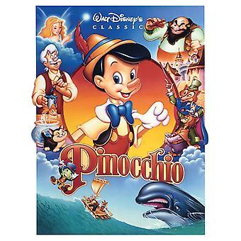 Pinocho Placa de lona fundido 60 * 80cm