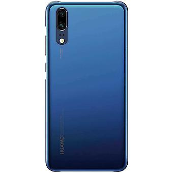 Color Case Hoesje Huawei P20 - Blauw