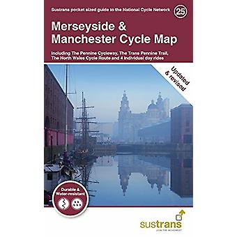 Merseyside & Manchester Cycle Map - Including The Pennine Cycleway
