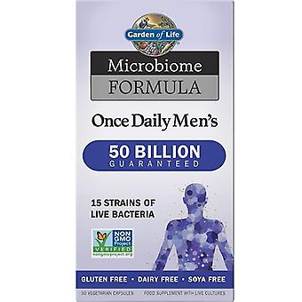 Garden Of Life Microbiome Formula Once Daily Mens Caps 30 1213