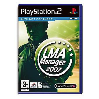 LMA Manager 2007 (PS2) - Als Nieuw