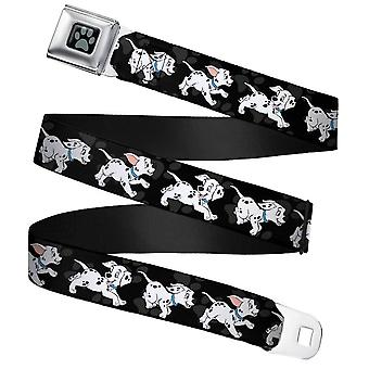 Children's Disney 101 Dalmatians Running Seatbelt Buckle Web Belt (20-36