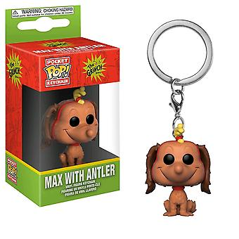 Dr Seuss Max Pocket Pop! Keychain