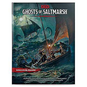 Dungeons & Dragons Ghosts of Saltmarsh Hardcover Book (D&D Ad