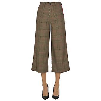 White Sand Ezgl429010 Women's Brown Polyester Pants