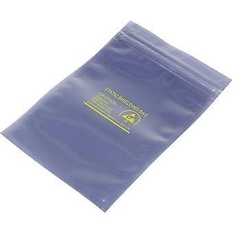 TRU COMPONENTS ESD bag (L x W) 152 mm x 100 mm shielding ESD identifier S resealable 1 pc(s)