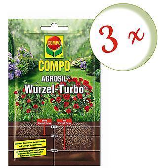 Sparset: 3 x COMPO AGROSIL Wurzel-Turbo, 50 g