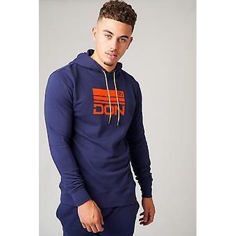 Don navy & orange hoodie