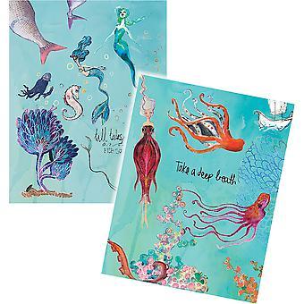 Zauberbinder Washi Meerjungfrauen Blätter
