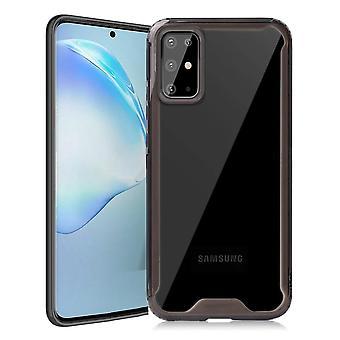 Shock resistant shell Samsung Galaxy S20 Plus - transparent/black