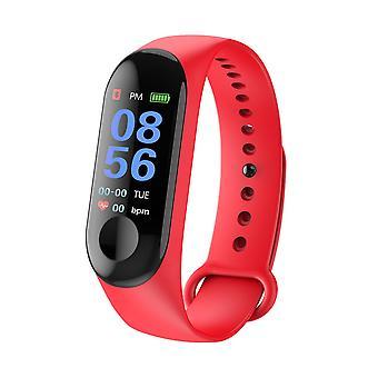 Tela colorida relógio inteligente frequência cardíaca e monitor de pressão arterial