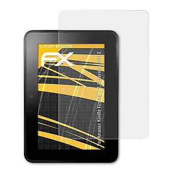atFoliX Verre film protecteur compatible avec  Kindle Fire HD 7 1.Generation 2012 9H Hybride-Verre