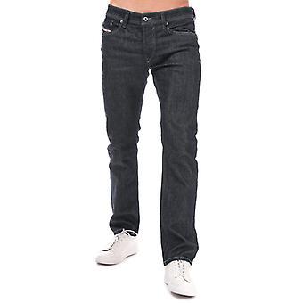 Men's Diesel Waykee Straight Leg Jeans in Blue