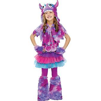 Cute Purple Monster Child Costume
