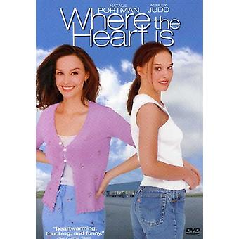 Where the Heart Is [DVD] USA import