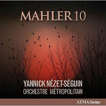 マーラー/ダングル テール シャンゼリゼ管弦楽団/Nezet-セガン - マーラー 10 [CD] 米国のインポート
