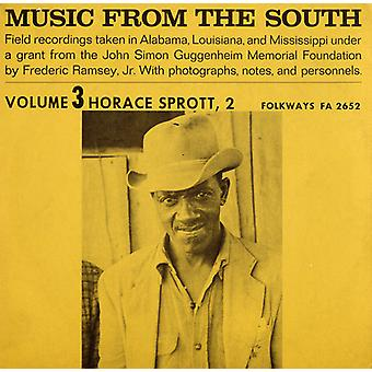 Horace Sprott - Vol. 3-Music From the South: Horace Sprott 2 [CD] USA import