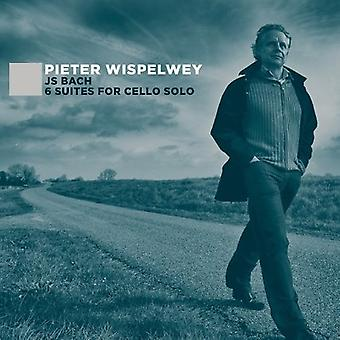 Bach / Wispelwey, Pieter - J.S. Bach: 6 Suites for Cello Solo [CD] USA import