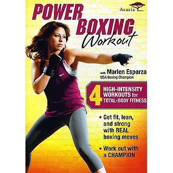 Power Boxing Workout with Marlen Esparza [DVD] USA import