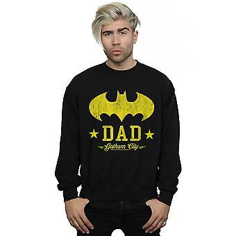 DC Comics Miehet&s Batman I Am Bat Isä Collegepaita