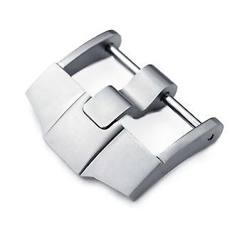 حزام ساعة مشبك ووتش 24mm عالية الجودة 316l الفولاذ المقاوم للصدأ المسمار في 6mm مشبك الرمل اللسان، والمصممة لudemars piguet