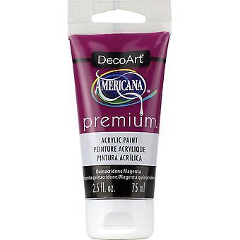 Americana Premium akrylfärg rör 2.5 oz-quinacridone magenta