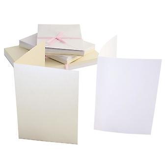 Anita's Cartes A6 & Enveloppes Intemporelles Pearlescent (50pk) (ANT 1511011)