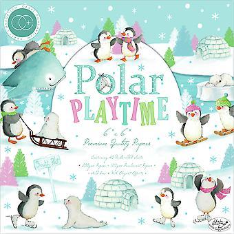 Craft Consortium Polar Playtime 6x6 Tommer Papir Pad