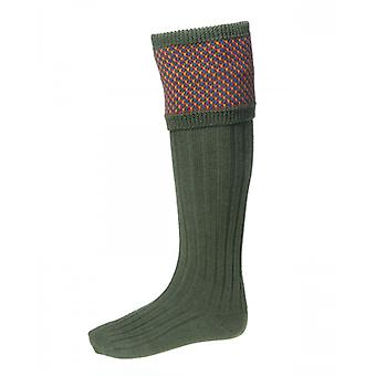 House of Cheviot Country Socks Tayside ~ Spruce