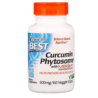 Doctor's Best, Curcumin Phytosome with Meriva, 500 mg, 60 Veggie Caps