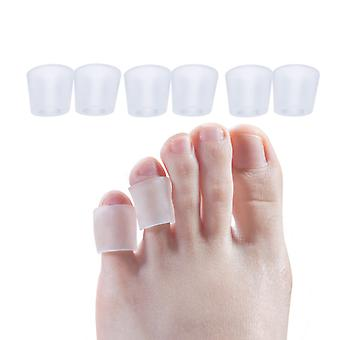 Transparent Gel Fingers Protector - Foot Support