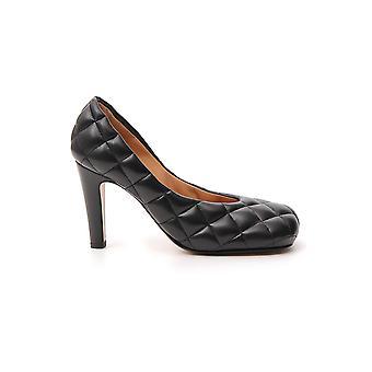 Bottega Veneta 592013vbrr01000 Women's Black Leather Pumps