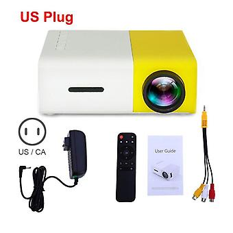 Mini Projector Lcd Led 800 Lumens 320x240 Pixel Best Video Beamer For Kids