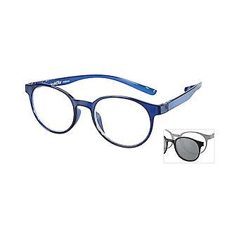 Leesbril Unisex Le-0190C Miami Blue Strength +2.00