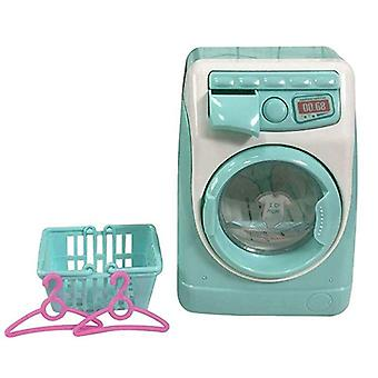 Mini Pretend Play Simulation Washing Machine Toys For Kids