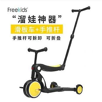 Children's Scooter Tricycle 5 In 1  Balance Bike Walker Infant Scooter Bicycle