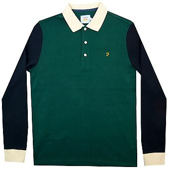 Farah Polo Shirts Hearsall LS Polo