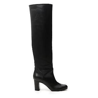 L'autre Koos Ld255180wp26151001 Dames's Black Leather Boots