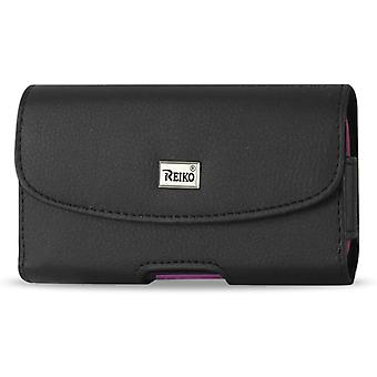 "Reiko Horizontal Leather Pouch for Samsung S4/S3 I9300 (5.78""X3.15""X0.71""s Plus)"